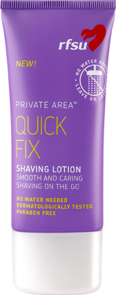 Quick Fix Shaving Lotion